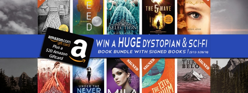 YA Dystopian/Sci-fi Book Bundle & Gift Card Giveaway