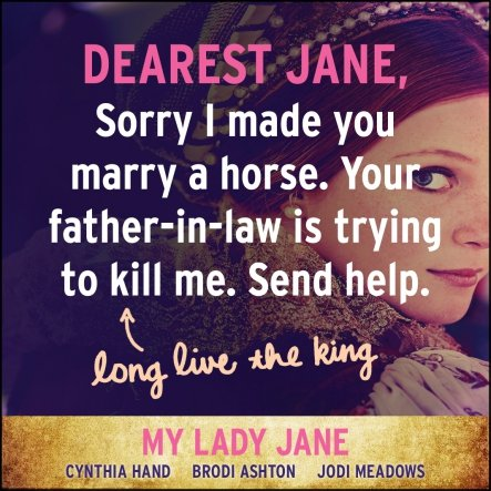 YA Humor My Lady Jane