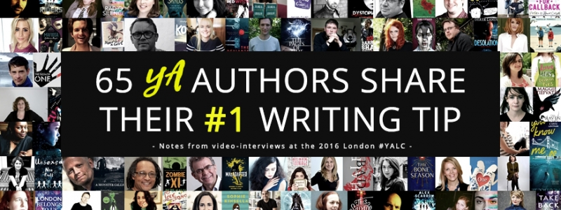65 Authors Share Their #1 Tip for New Writers