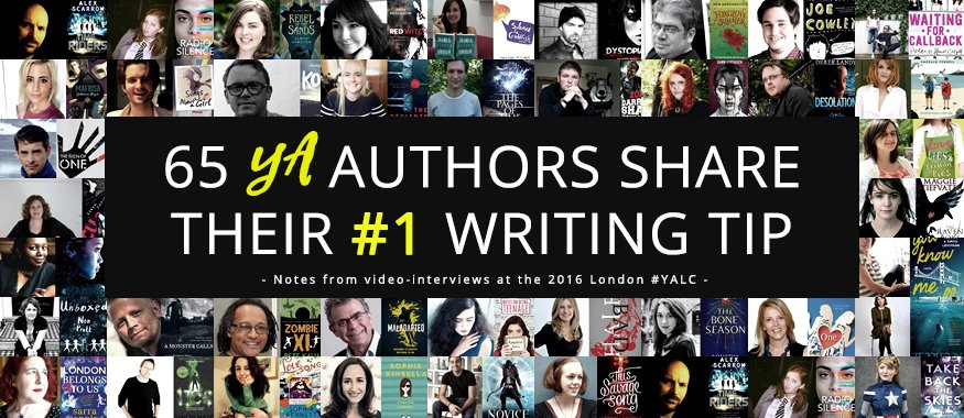 65 writing tips and advice for authors