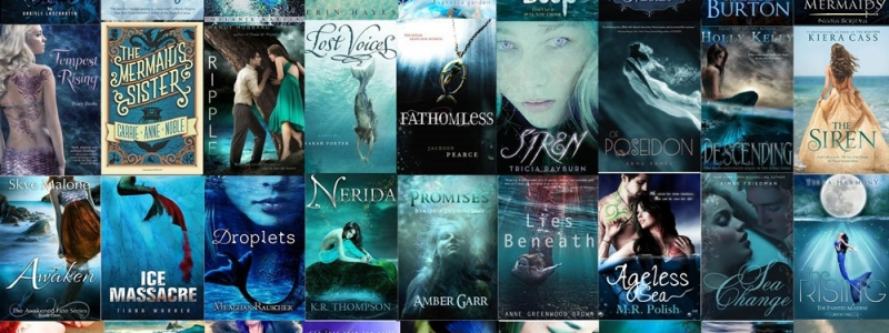 32 thrilling young adult fantasy novels with MERMAIDS