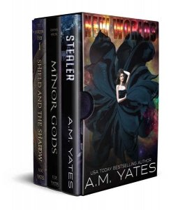 New Worlds Anthology by A.M. Yates