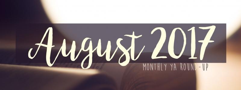 YA Round-up: August 2017