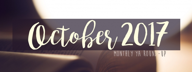 YA Round-up – October 2017