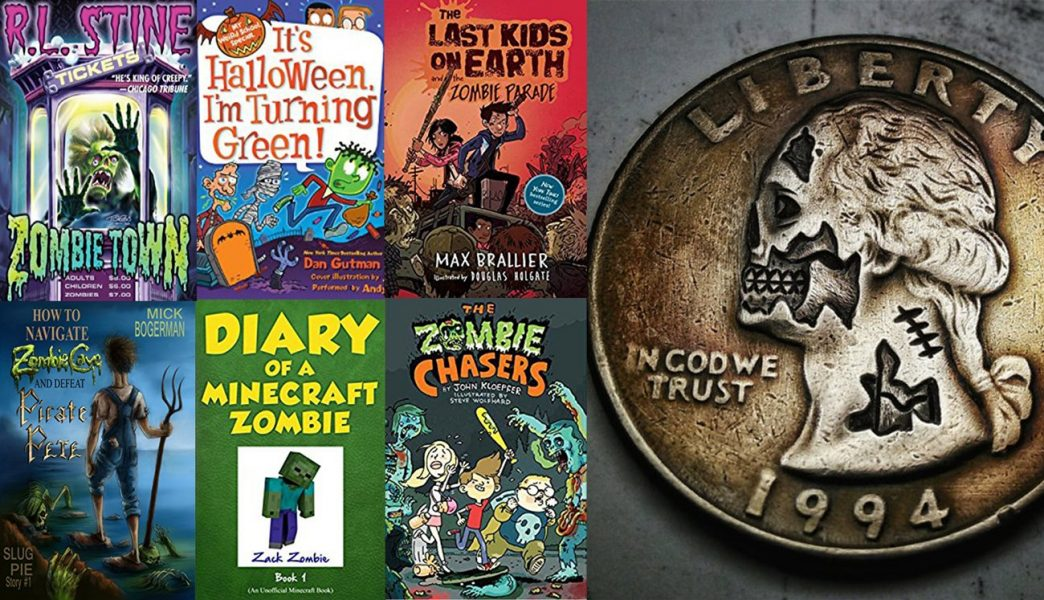Zombie books for Halloween that middle grade readers will love (giveaway)
