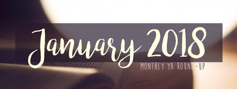 YA Round-up: January 2018