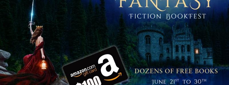 100 free fantasy books + $100 Amazon giftcard
