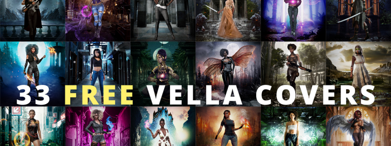 Free POC book covers for Vella